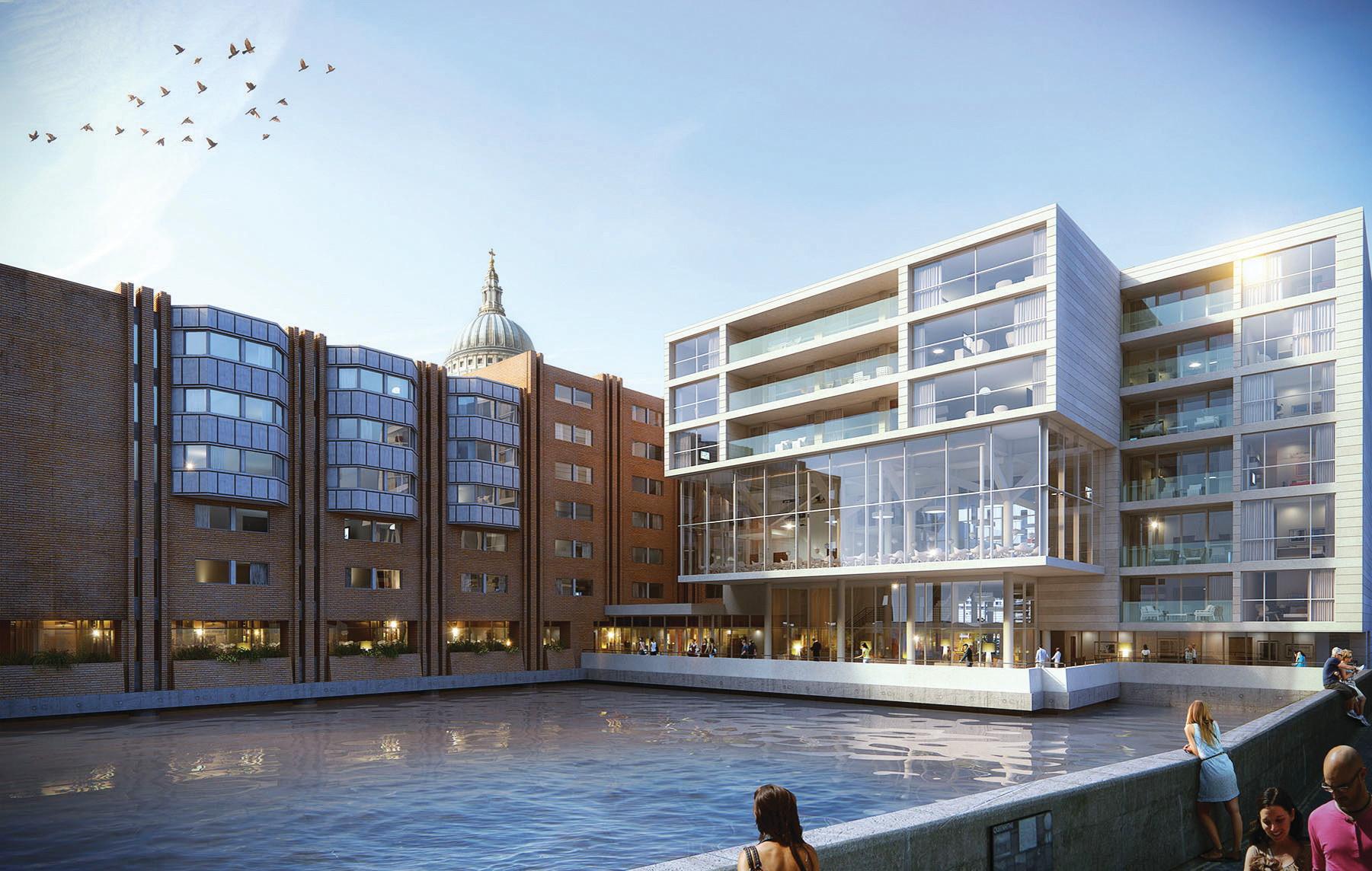 queensbridge house mansion house london future 54. Black Bedroom Furniture Sets. Home Design Ideas